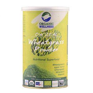 Organic Wellness OW'Zeal Wheat Grass Powder (100 Grams / 3.53 oz)